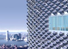 solar+facades | rendering of an EcoCeramic cladding system as it would appear on a ...