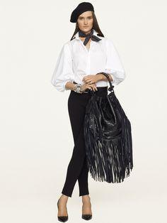 Emmaline Cotton Shirt - Long-Sleeve  Shirts - RalphLauren.com