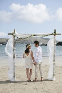 40 Great Ideas Of Beach Wedding Arches Weddings And