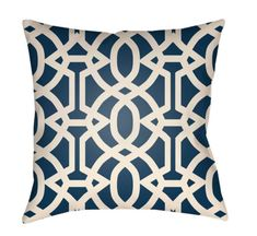 Buy the Surya Light Blue Direct. Shop for the Surya Light Blue Litchfield Wide Square Geometric Pattern Polyester Outdoor Accent Pillow Cover and save. 20x20 Pillow Covers, Sofa Cushion Covers, Outdoor Throw Pillows, Accent Pillows, Linen Pillows, Decorative Pillows, Trellis Pattern, Blue Bedding, Geometric Patterns