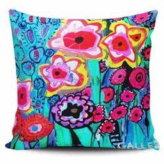 Cojin Decorativo Tayrona Store Flores Galler - $ 43.900