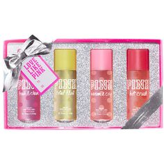 Victoria's Secret Body Mist Gift Set,printmulti-colored ($28) ❤ liked on Polyvore featuring beauty products and gift set