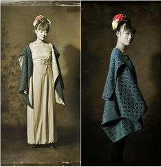 Freddy Gaviria is a Colombian designer known for his evening gowns and specially for his Japanese coats. Japanese Coat, Evening Gowns, Barcelona, Workshop, Coats, Trends, Unique, How To Make, Handmade