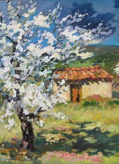 Maria Bertran | Cherry tree by the cabanon, n.d.