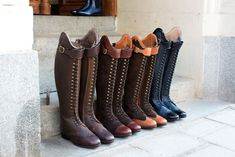 Horse Riding Boots, Equestrian Outfits, Long Boots, Dressage, Shoes, Fashion, Horses, Moda, Zapatos