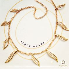 Colar Maritmo _Under the Sea necklace 18k gold and brilhants