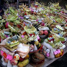 Offerings, Ubud, Bali by JonathaninBali Ubud Indonesia, Paradise Island, Java, Framed Prints, Table Decorations, Dinner Table Decorations, Center Pieces