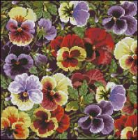 Pansy Pillow