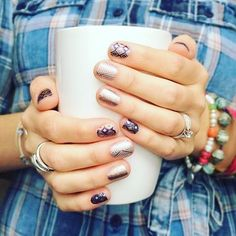 It is finally #chilly here in the #south what the heck #mothernature has finally figured  it's almost the end of #october time to catch up!  Today I'm keeping #warm with some #coffee #coffeeaddict in my #cup what about you?  What's in your #cup on this #Saturday #caturday #notd #nailsofig #nailart #diynailart #cutenails #glitternails #coppermanicure #geometricmani #fabulousfingers #nailbesties #veganbeauty #crueltyfreebeauty