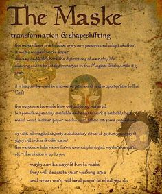 description of a magikal activity shamanic/witchcraft type crafting masks are frequently used to create & contact the magikal worlde as with all the. Book of Shadows 14 Page 2 Witchcraft Spells For Beginners, Magick Spells, Wicca Witchcraft, Dark Spells, Charmed Book Of Shadows, Grimoire Book, Hedge Witch, Witch Spell, The Book