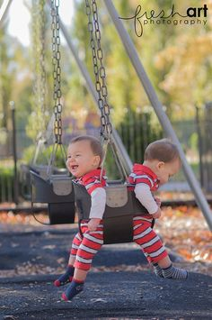 hee hee, this would be cute to do if your best buddy had a baby at the same time | St. Louis Family Photography