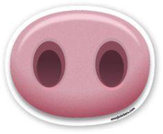 Pig Nose | Emoji Stickers