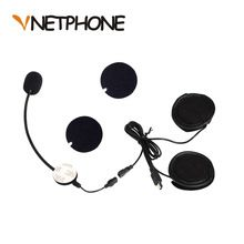 US $8.54 Helmet Casco Capacete Motorcycle Intercom Accessories Mini Usb Jack Microphone Speaker Headset Replacement for Vnetphone V8. Aliexpress product