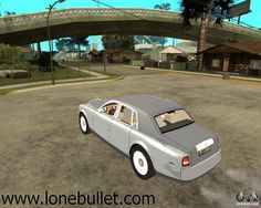 Hi fellow Grand Theft Auto San Andreas fan! You can download Rolls-Royce Phantom (2003) mod for free from LoneBullet - http://www.lonebullet.com/mods/download-rolls-royce-phantom-2003-grand-theft-auto-san-andreas-mod-free-13771.htm which has links for resume support so you can download on slow internet like me