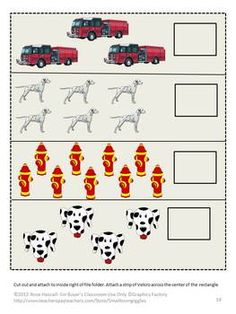 Fire Safety File Folder Games for PK-K or Special Education- These File Folder Games can be used to teach students about the danger of Fire and how to be safe.