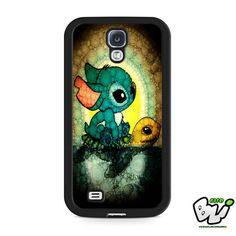 Lilo And Stitch And Turtle Samsung Galaxy S4 Case