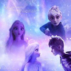 Jack Frost And Elsa, Sailor Princess, Rise Of The Guardians, Queen Elsa, Jelsa, Disney And Dreamworks, Disney Princesses, Legends, Frozen