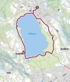 Rund um den Pfäffikersee • Wanderung » Wandermagazin SCHWEIZ Map, Boat Dock, Petting Zoo, Public Bathing, Solothurn, Hiking Trails, Tourism, Location Map, Maps