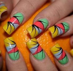 Crazy Nail Designs 2012 | Snap Poll: How Old Is Too Old to Wear Crazy Ass Nail Art?