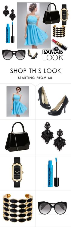 """Untitled #95"" by bosniamode ❤ liked on Polyvore featuring Tasha, Marc Jacobs, NYX, House of Harlow 1960, Chanel and Alexander McQueen"