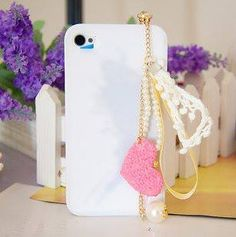 cotton love pearl headphone plug for $6 Only! Shop Now! for order queries inbox us at https://www.facebook.com/Glamourforgirls or email us at glamourous_girls@hotmail.com