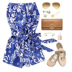 """""""downtown Charleston this afternoon"""" by classically-preppy ❤ liked on Polyvore"""