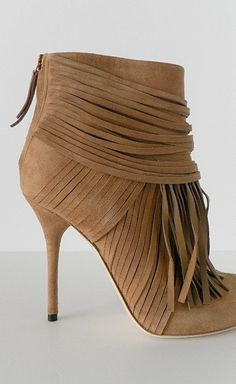 Gucci Camel Suede Akerman Heeled Booties Fringe Ankle Boots, Gucci Shoes,  Gucci Gucci, 371f8bdd9e23