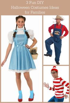 3 Fun Halloween Costumes Ideas for Families | eBay