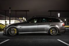 BMW Touring by Tuning Benelux, Picture by Mick Kok Wagon Cars, Bmw Wagon, E91 Touring, Bavarian Motor Works, Sports Wagon, Bmw I, Bmw 3 Series, Car Tuning, Bmw Cars