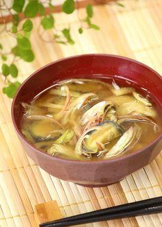 なすと茗荷の味噌汁』夏の定番味噌汁♡ by apomomokoさん | レシピ ...