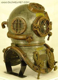 Antique Diving Helmets - Morse Mark V, 1944.
