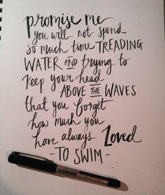 Brush pen hand drawn lettering