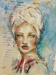 Art journal inspiration. Toni Burt