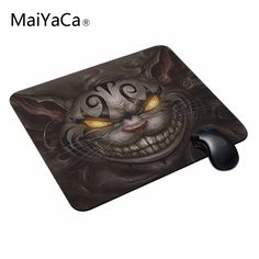 MaiYaCa Notebook Desktop Computer Mousemat Cheshire Cat Customized Mouse Pad Computer Mouse Mat Size 18*22cm,20*25cm,25*29cm