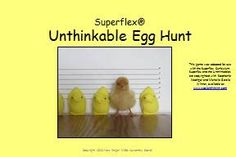 FREE egg hunt game for use with the Superflex curriculum!