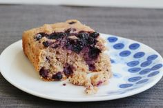This cake from Snack Girl is low-fat and low in calories, yet sounds absolutely delish! Love the flavors of blueberry and lemon and can't wait to try it!!