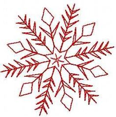 Snowflake free embroidery design 23. Machine embroidery design. www.embroideres.com