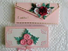 Emballage quilling: gaver kan aldrig få nok papir.  Foto 8