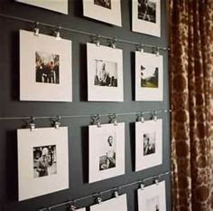 Image Search Results for displaying picture frames on wall