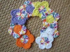 8 All Cotton Facial Scrubbies Pads or Makeup Removers by TooCozy, $10.25