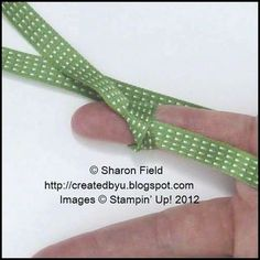 Created By You: Two Quick & Easy Ribbon Tricks Tutorial