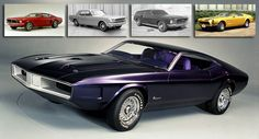 The Ford Mustang Concepts that Never Made It to Production