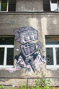 Abandoend and forgotten places in Berlin.     Sam Crew. Hello    http://www.flickr.com/photos/berlin_streetart/sets/72157630191690894/