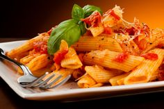 Pasta With No-Cook Tomato Sauce : Skip the store-bought sauce and pasta with this no-cook sauce recipe at home!