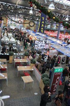 Old Spitalfields Market: stalls. Wonderful foods and crafts in Shoreditch.                                                                                                                                                                                 Mehr