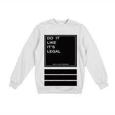 Do It Like It's Legal - Chanel - White Jumper