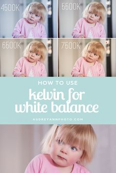 Photography Tutorial: A step by step guide on how to use Kelvin to set your white balance in camera! Ensure great color in your images with this tutorial!