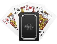 A deck of cards might be an obvious choice for a Las Vegas wedding theme but still makes for a fun favor idea for your guests. This one can be personalized with a monogram, text, or photo for a gift that is truly unique! The classically black with white border design and names in calligraphy are sure to make this casino theme deck of cards everyone's favorite! Summer Wedding Favors, Fall Wedding, Wedding Postcard, Things To Do At Home, Unique Birthday Gifts, Las Vegas Weddings, Party Kit, Casino Theme