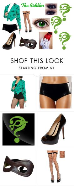 """""""The Riddler"""" by ale072305 ❤ liked on Polyvore featuring Schutz"""
