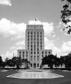 Art Deco City Hall, Houston, Texas